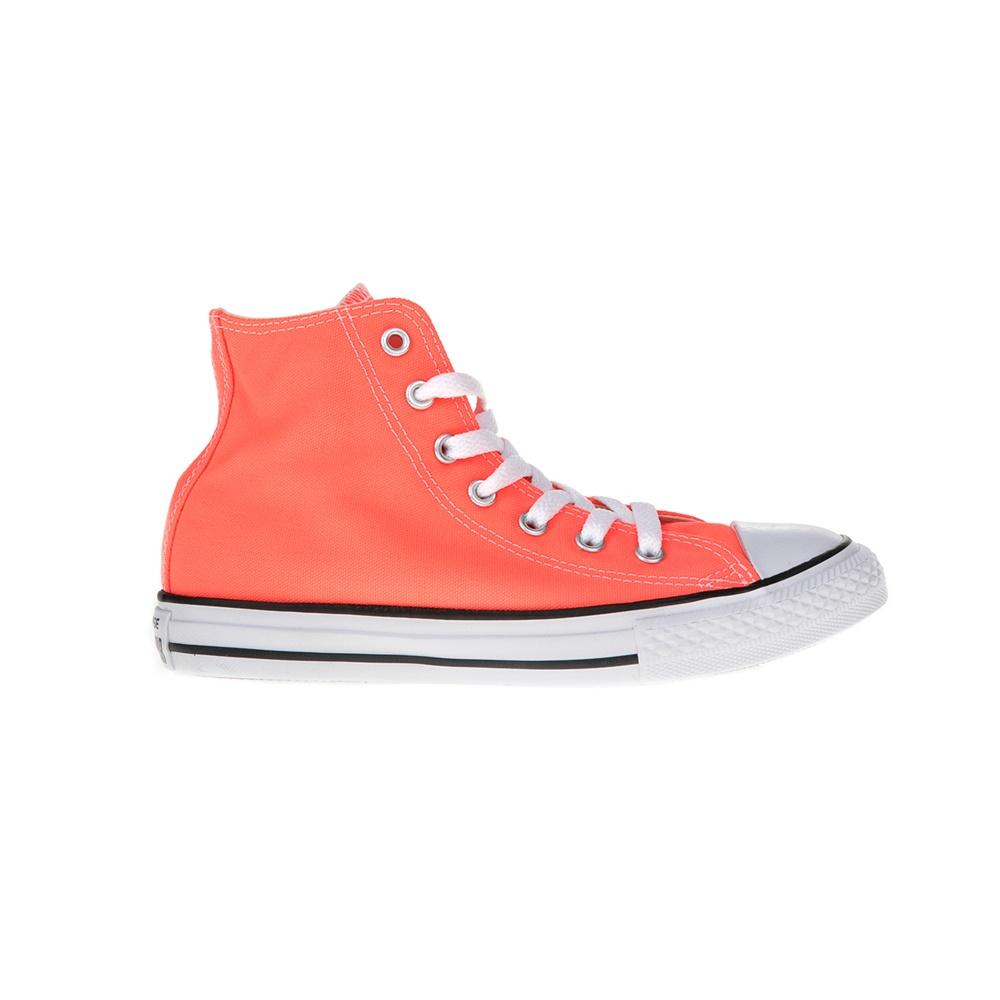 CONVERSE – Παιδικά μποτάκια Chuck Taylor All Star Hi πορτοκαλί