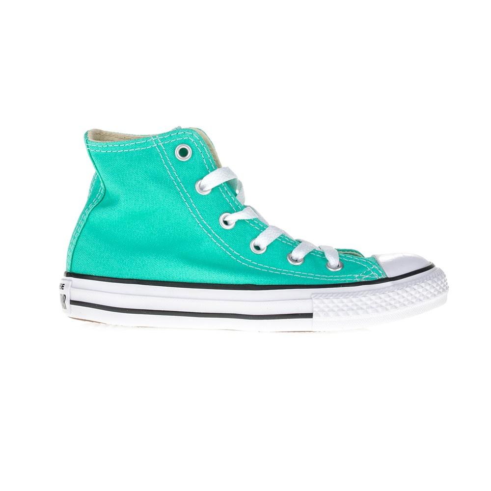 CONVERSE – Παιδικά μποτάκια Chuck Taylor All Star Hi πράσινα