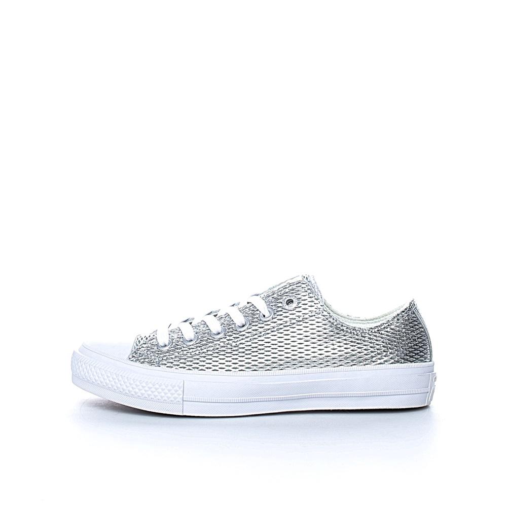 7f2b1abbd3b -30% CONVERSE – Γυναικεία sneakers Chuck Taylor All Star II Ox ασημί  απόχρωση