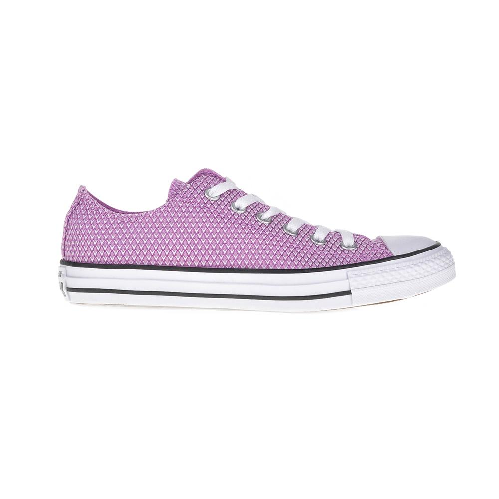 CONVERSE – Γυναικεία αθλητικά παπούτσια Chuck Taylor All Star Ox μοβ-λευκά