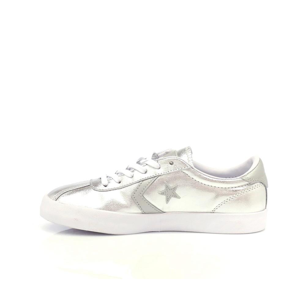 CONVERSE – Γυναικεία παπούτσια Breakpoint Ox ασημί απόχρωση