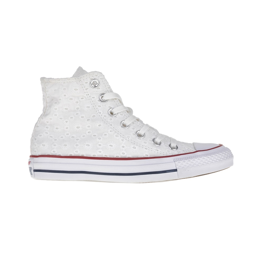 ded2bdc0bc7 -30% Factory Outlet CONVERSE – Γυναικεία παπούτσια Chuck Taylor All Star Hi  λευκά