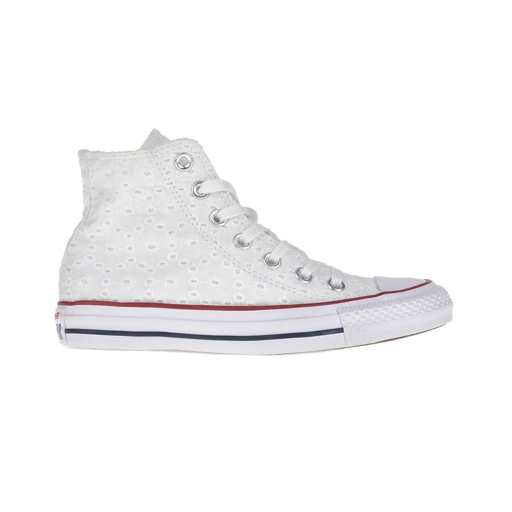 48530675309 CONVERSE – Γυναικεία παπούτσια Chuck Taylor All Star Hi λευκά. Factory  Outlet