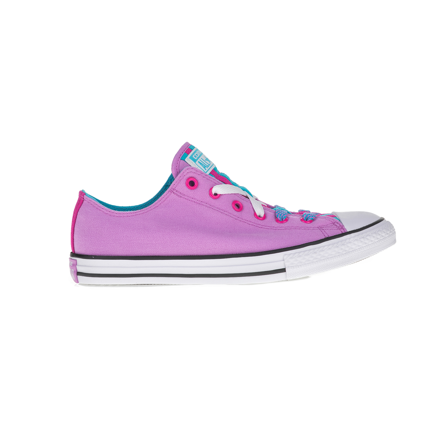CONVERSE – Παιδικά sneakers CONVERSE Chuck Taylor All Star Loophole μοβ