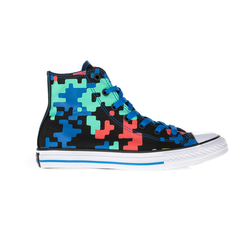 CONVERSE – Παιδικά μποτάκια Chuck Taylor All Star Hi πολύχρωμα