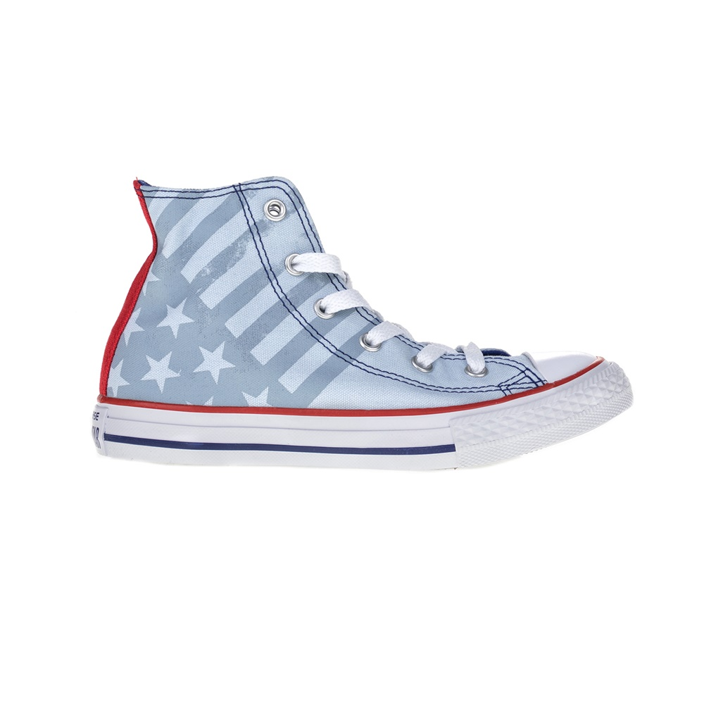CONVERSE – Παιδικά μποτάκια Chuck Taylor All Star Hi μπλε-κόκκινο
