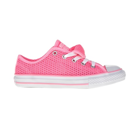 CONVERSE-Παιδικά παπούτσια Chuck Taylor All Star Double T ροζ