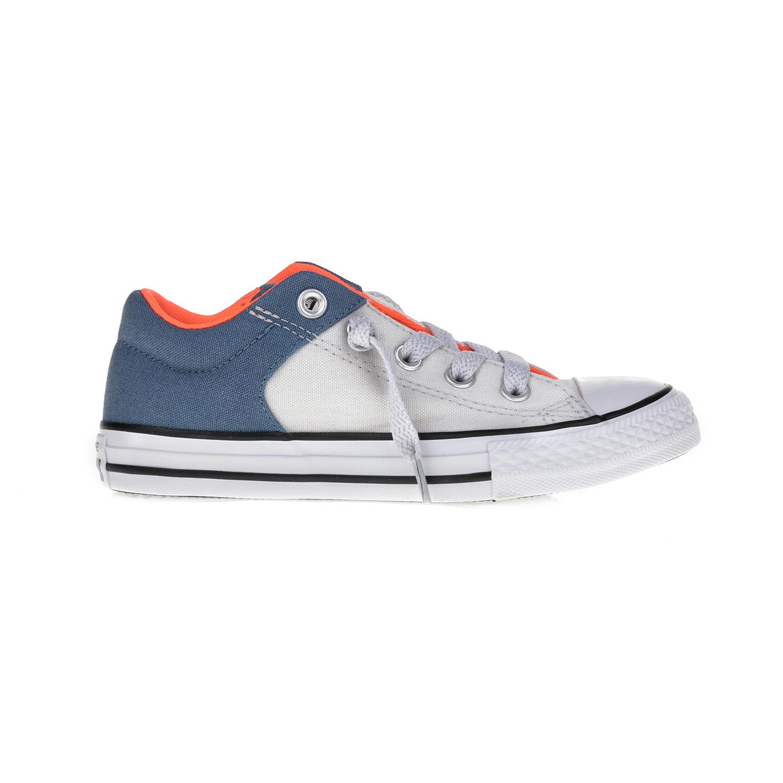 CONVERSE – Παιδικά παπούτσια Chuck Taylor All Star High Str γκρι-μπλε