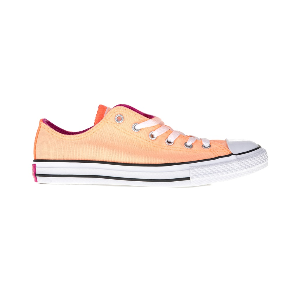 CONVERSE – Παιδικά παπούτσια Chuck Taylor All Star Double T πορτοκαλί