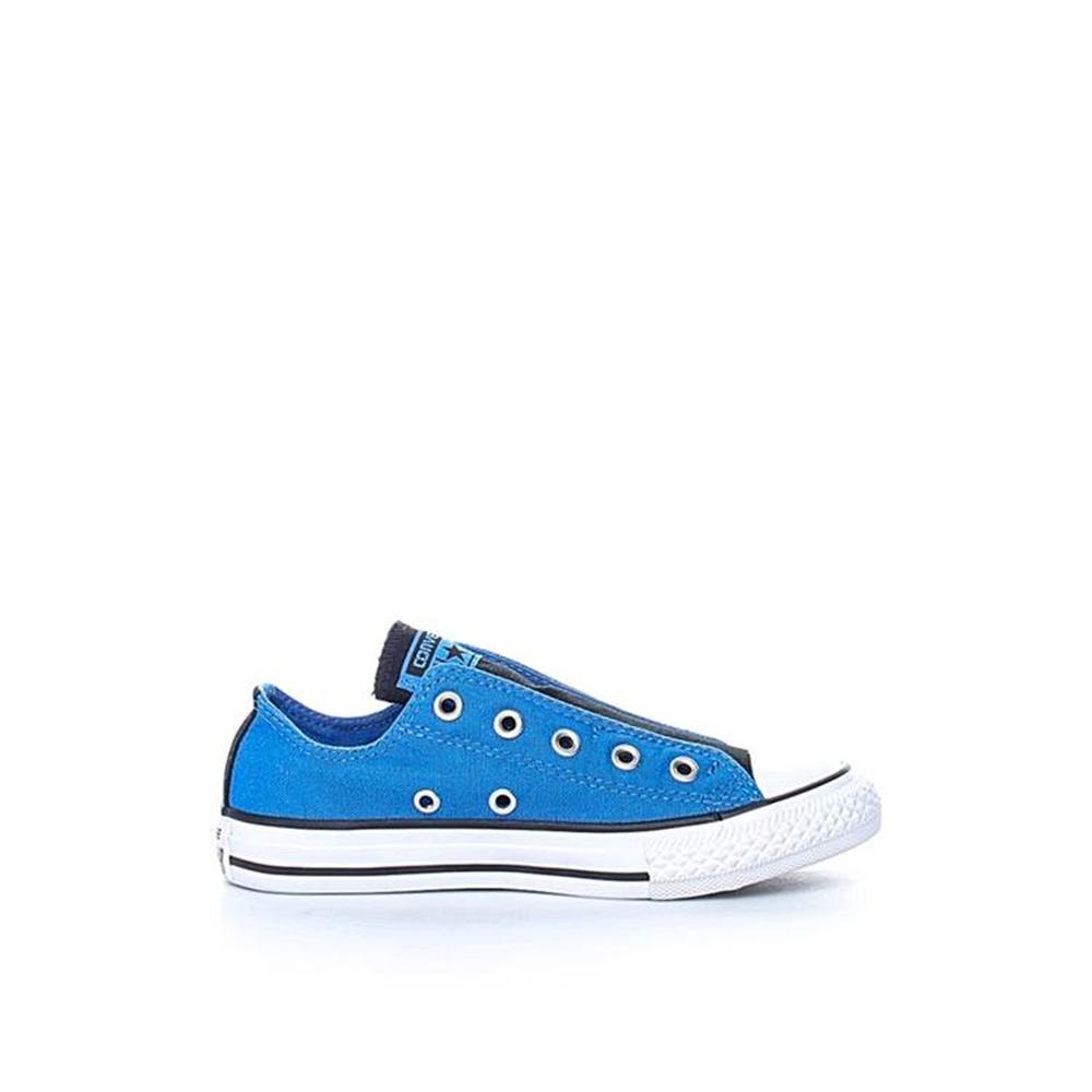 CONVERSE - Παιδικά παπούτσια CONVERSE Chuck Taylor All Star Slip Sli μπλε 0de75257350