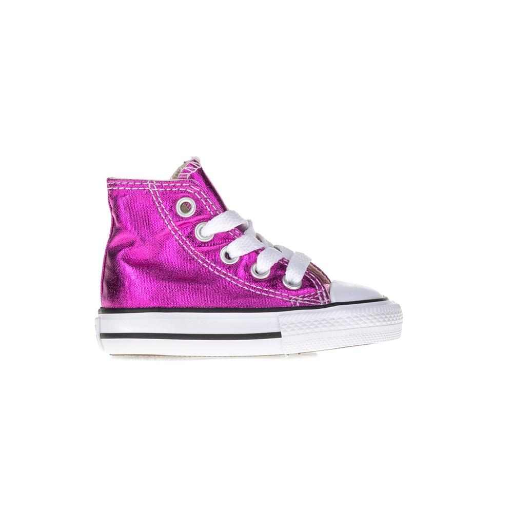 CONVERSE – Βρεφικά μποτάκια Chuck Taylor All Star Hi ροζ