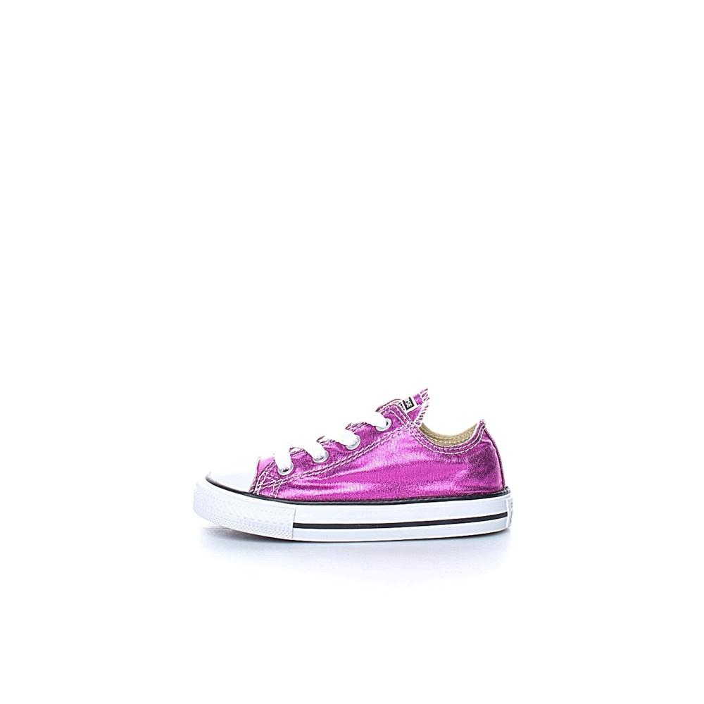 CONVERSE - Βρεφικά παπούτσια Chuck Taylor All Star Ox ροζ-μωβ