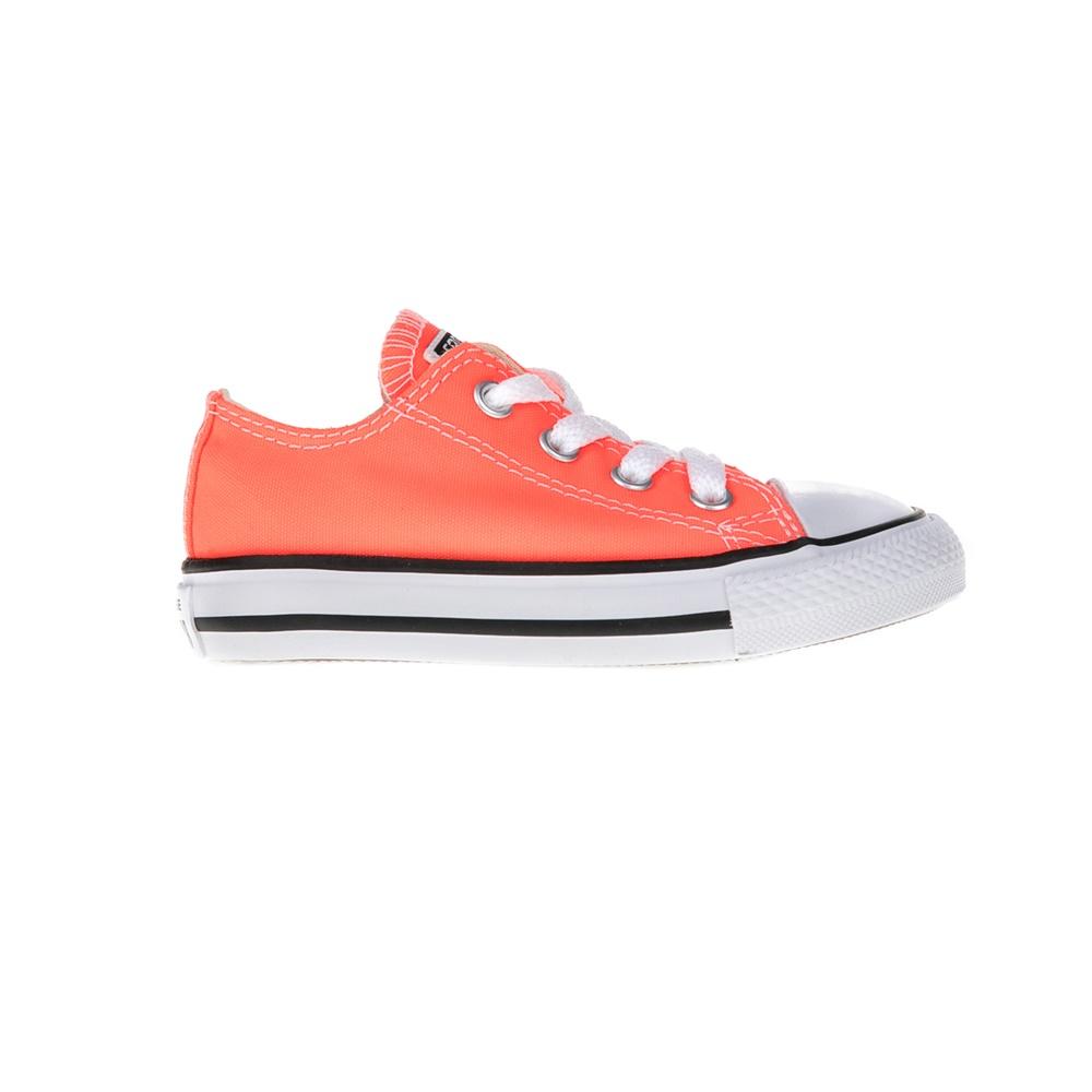 CONVERSE – Βρεφικά παπούτσια Chuck Taylor All Star Ox πορτοκαλί