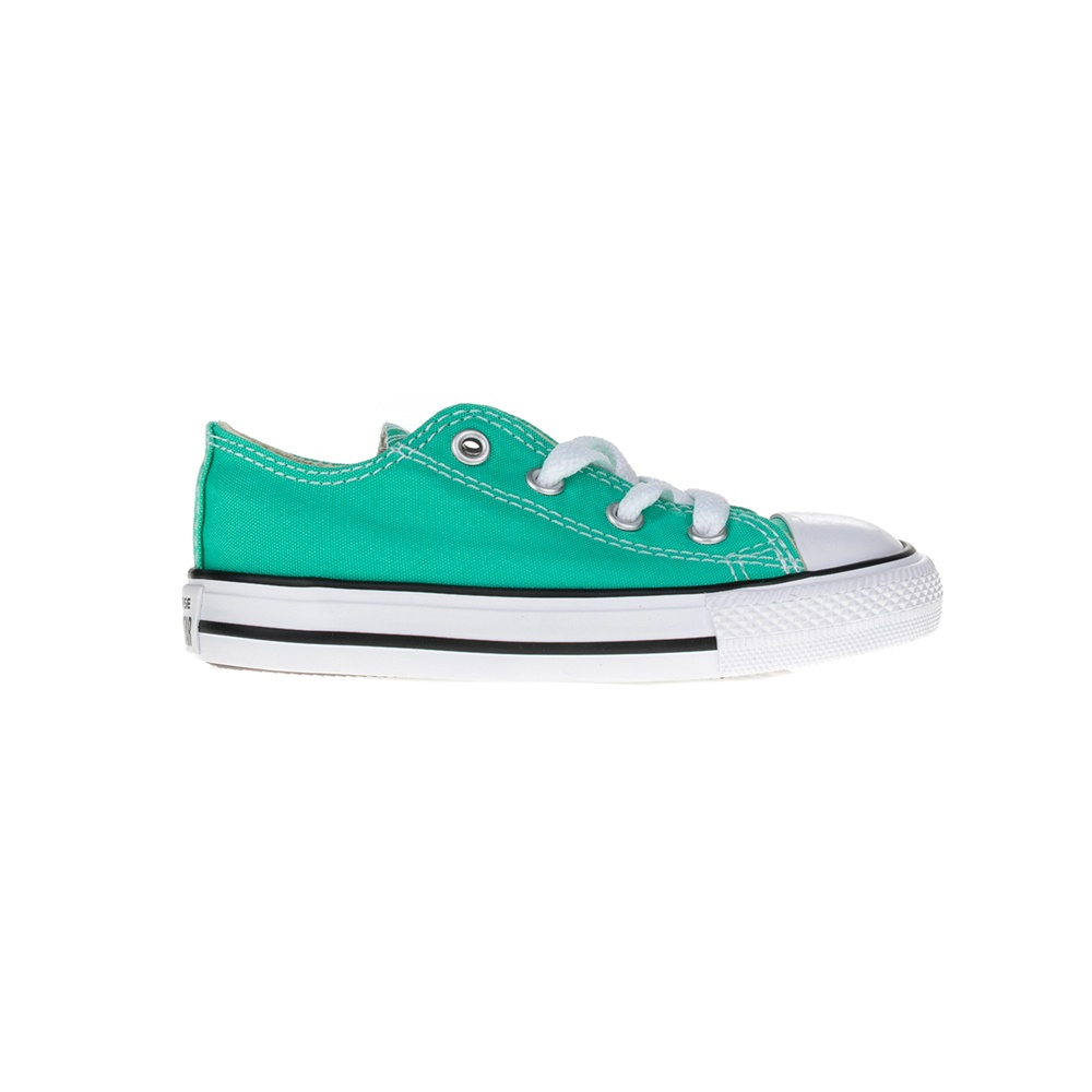 CONVERSE – Βρεφικά παπούτσια Chuck Taylor All Star Ox πράσινα
