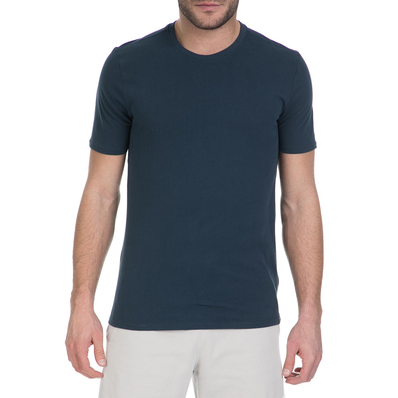 NIKE – Κοντομάνικη μπλούζα Nike Air Jordan σκούρο μπλε