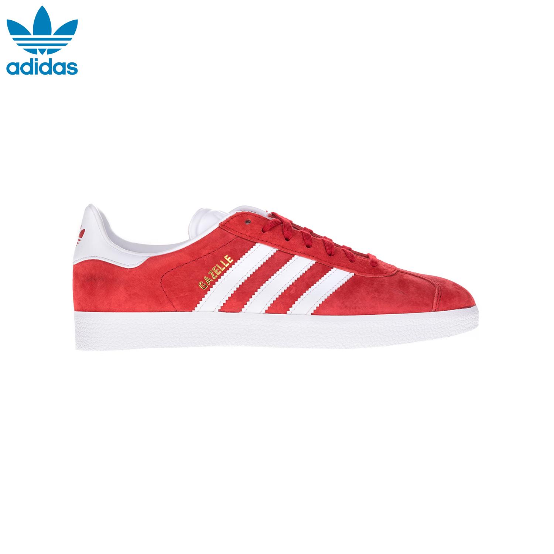 ADIDAS – Αντρικά παπούτσια GAZELLE 85 ADIDAS κόκκινα-άσπρα