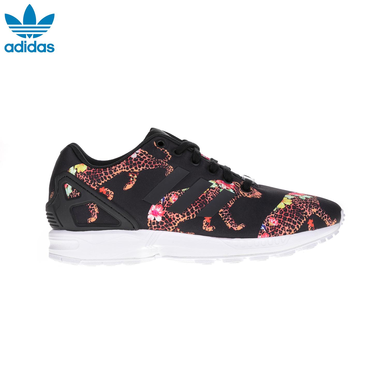 ADIDAS – Γυναικεία παπούτσια ZX FLUX ADIDAS εμπριμέ