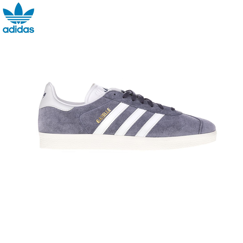 ADIDAS – Αντρικά παπούτσια GAZELLE 85 ADIDAS γκρι-άσπρα