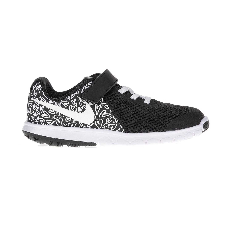 NIKE – Παιδικά αθλητικά παπούτσια FLEX EXPERIENCE 5 PRINT (PSV) μαύρα