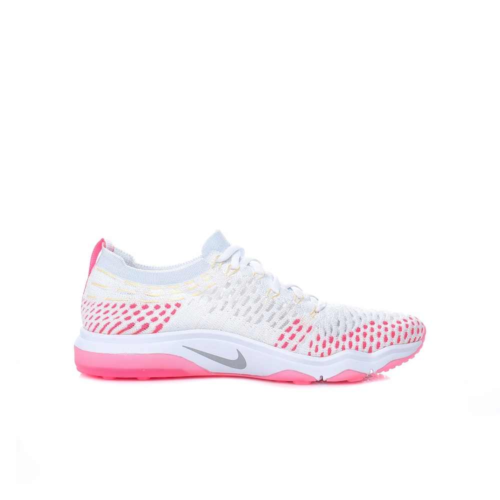 NIKE – Γυναικεία αθλητικά παπούτσια NIke AIR ZOOM FEARLESS FLYKNIT λευκά – ροζ