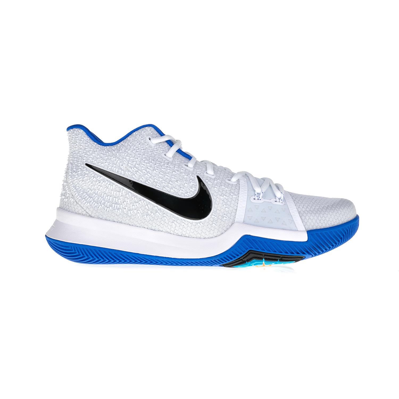 NIKE – Ανδρικά αθλητικά μποτάκια KYRIE 3 ΝΙΚΕ λευκά-μπλε
