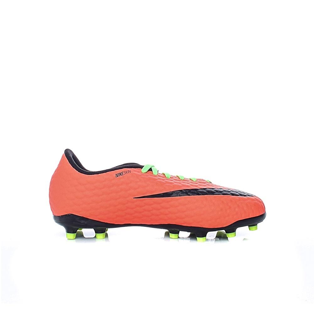 9112f833543 -29% Factory Outlet NIKE – Unisex παιδικά παπούτσια ποδοσφαίρου Nike JR  HYPERVENOM PHELON III FG κίτρινα – πορτοκαλί