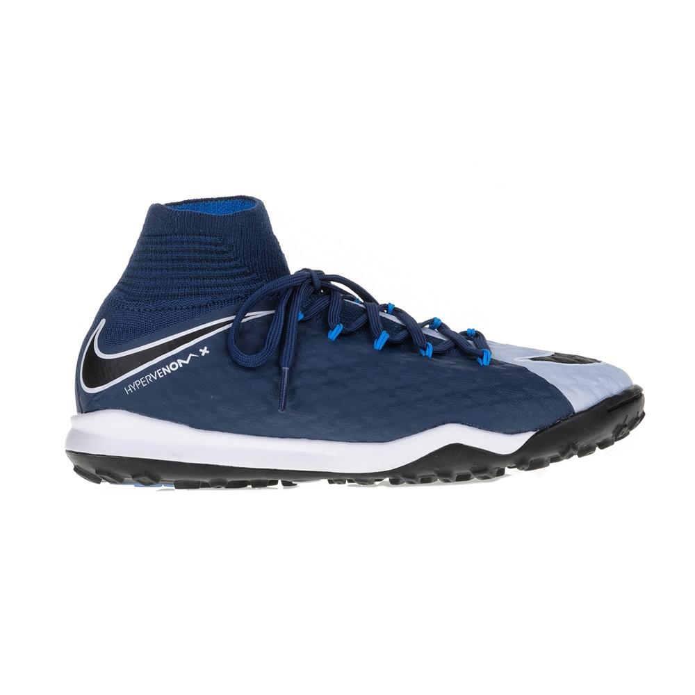 NIKE – Unisex παιδικά παπούτσια ποδοσφαίρου Nike JR HYPERVENOMX PROXIMO 2 DF TF μπλε – λευκά