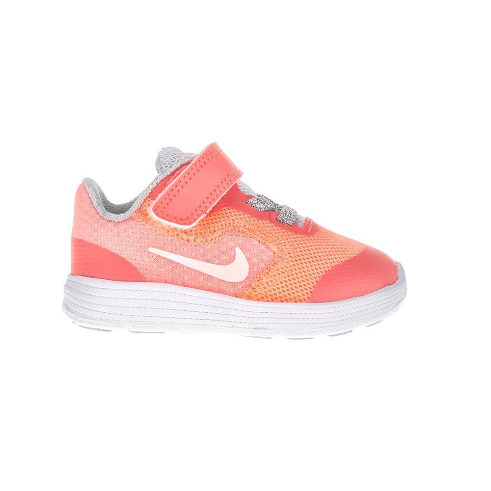 NIKE – Βρεφικά παπούτσια NIKE REVOLUTION 3 SE (TDV) ροζ