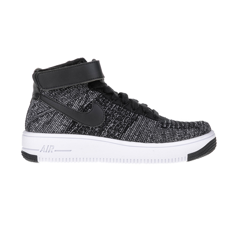NIKE – Παιδικά παπούτσια AF1 ULTRA FLYKNIT MID (GS) μαύρα