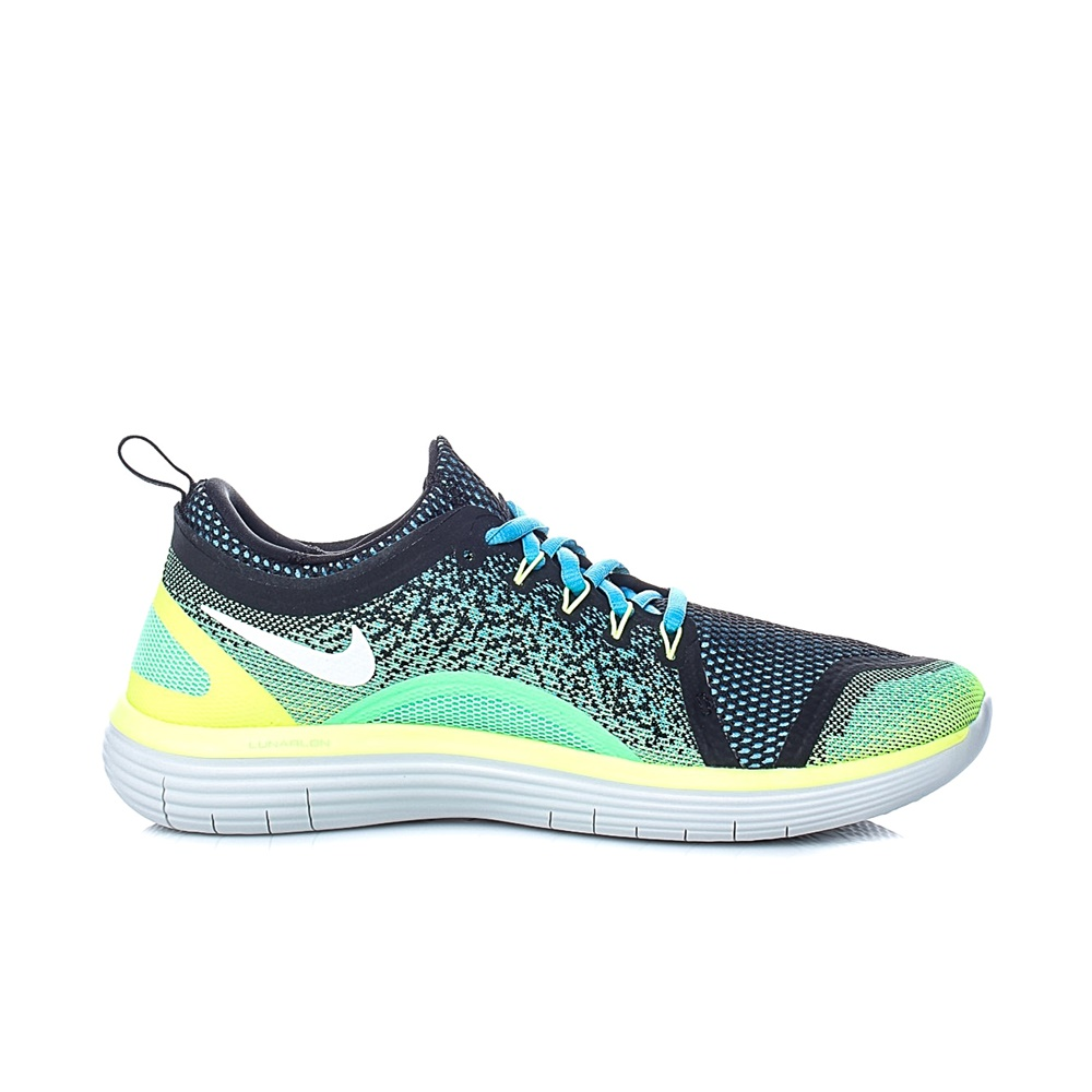 NIKE – Ανδρικά αθλητικά παπούτσια Nike FREE RN DISTANCE 2 πράσινα – μαύρα