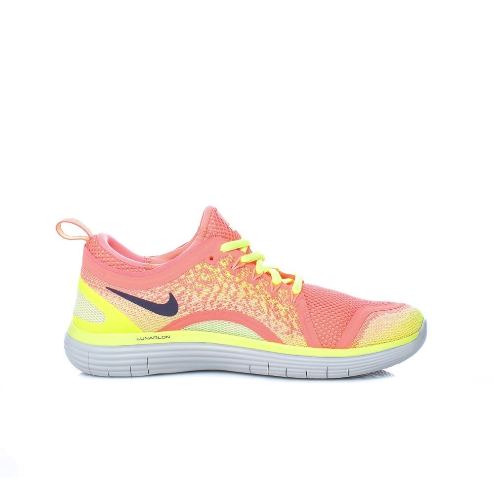 NIKE – Γυναικεία αθλητικά παπούτσια Nike FREE RN DISTANCE 2 πορτοκαλί – κίτρινα
