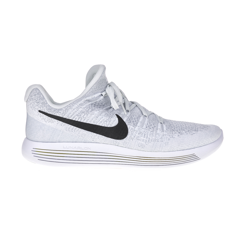 NIKE – Ανδρικά παπούτσια για τρέξιμο NIKE LUNAREPIC LOW FLYKNIT 2 λευκά-γκρι