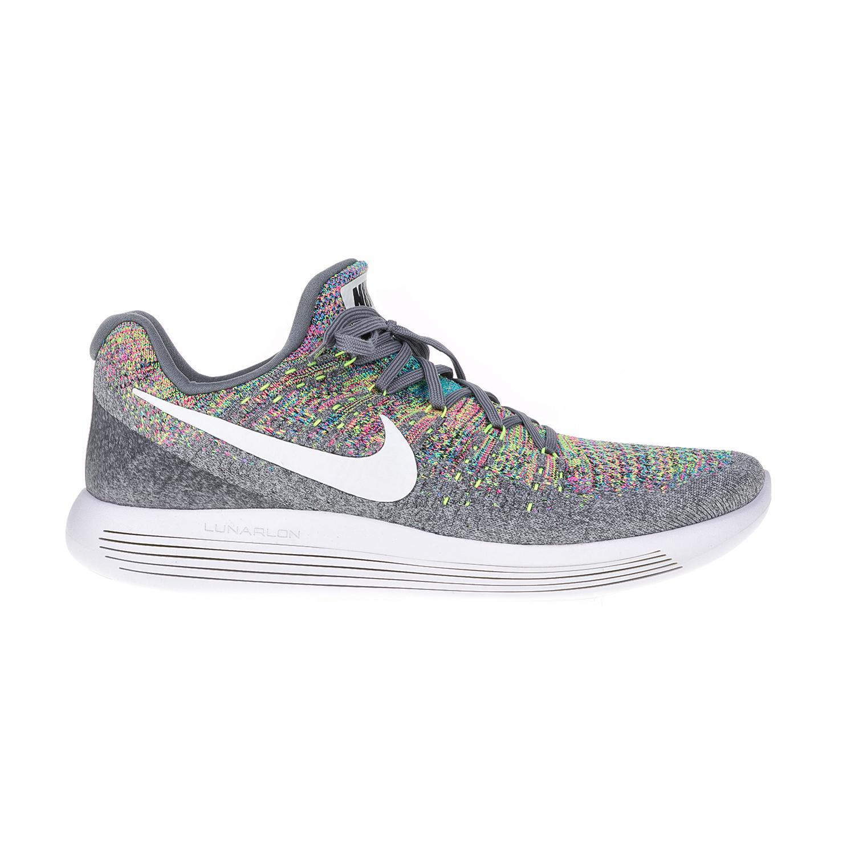 NIKE – Ανδρικά παπούτσια για τρέξιμο NIKE LUNAREPIC LOW FLYKNIT 2 γκρι-παστέλ