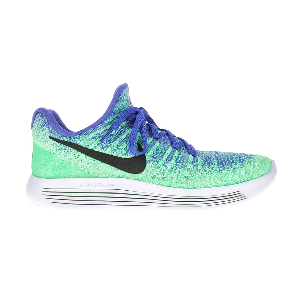 NIKE - Γυναικεία αθλητικά παπούτσια NIKE LUNAREPIC LOW FLYKNIT 2 πράσινα-μοβ