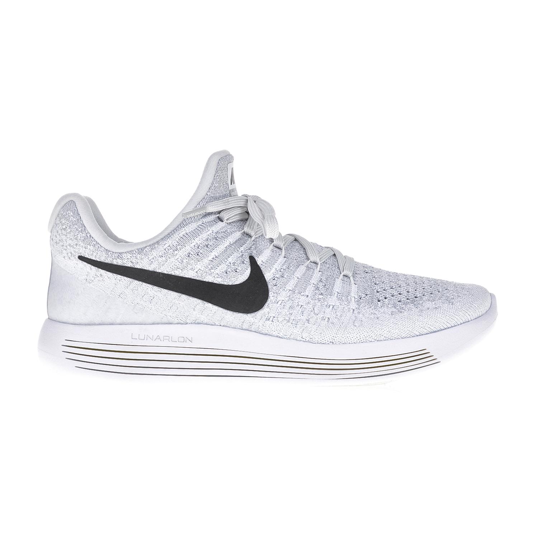 NIKE – Γυναικεία αθλητικά παπούτσια NIKE LUNAREPIC LOW FLYKNIT 2 λευκά-γκρι