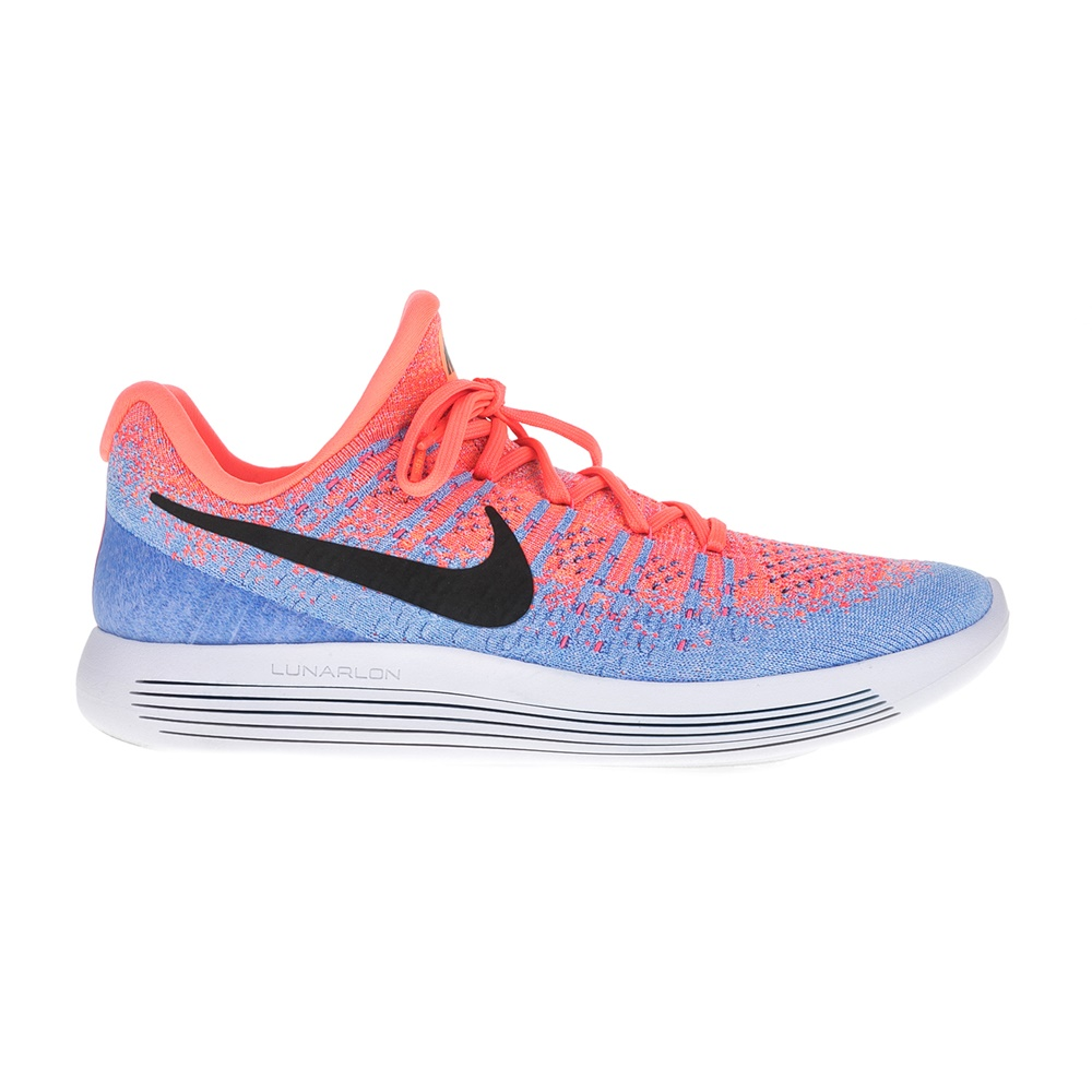 NIKE – Γυναικεία παπούτσια για τρέξιμο Nike LUNAREPIC LOW FLYKNIT 2 πορτοκαλί -μπλε