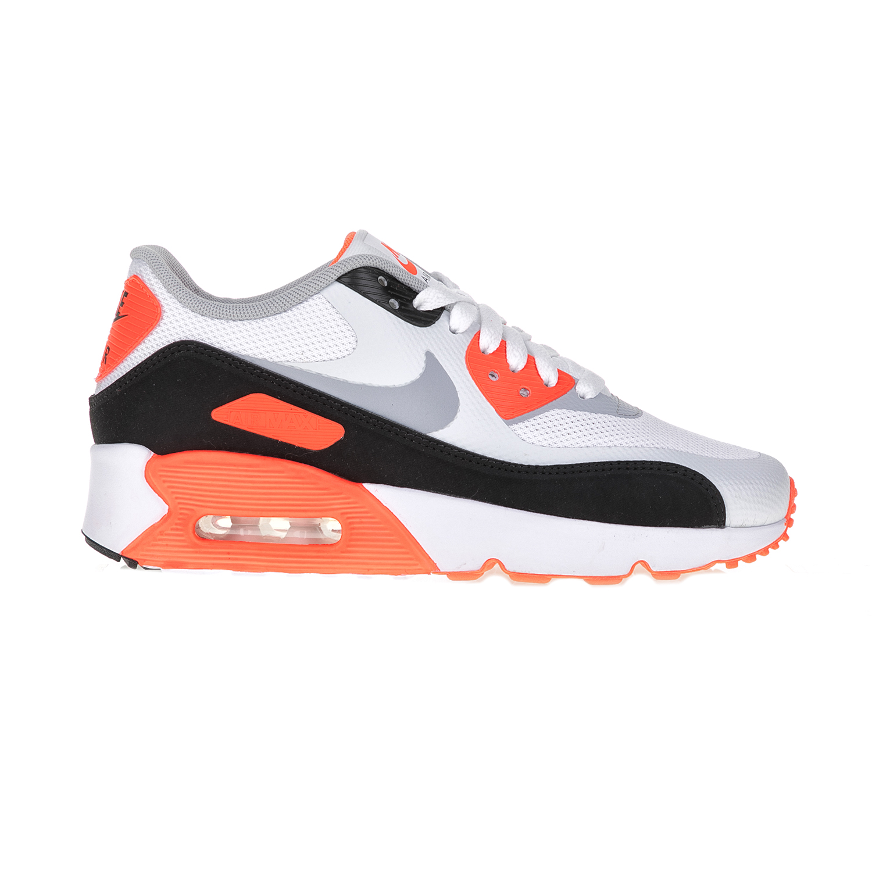 NIKE – Παιδικά αθλητικά παπούτσια AIR MAX 90 ULTRA 2.0 (GS) λευκά – πορτικαλί