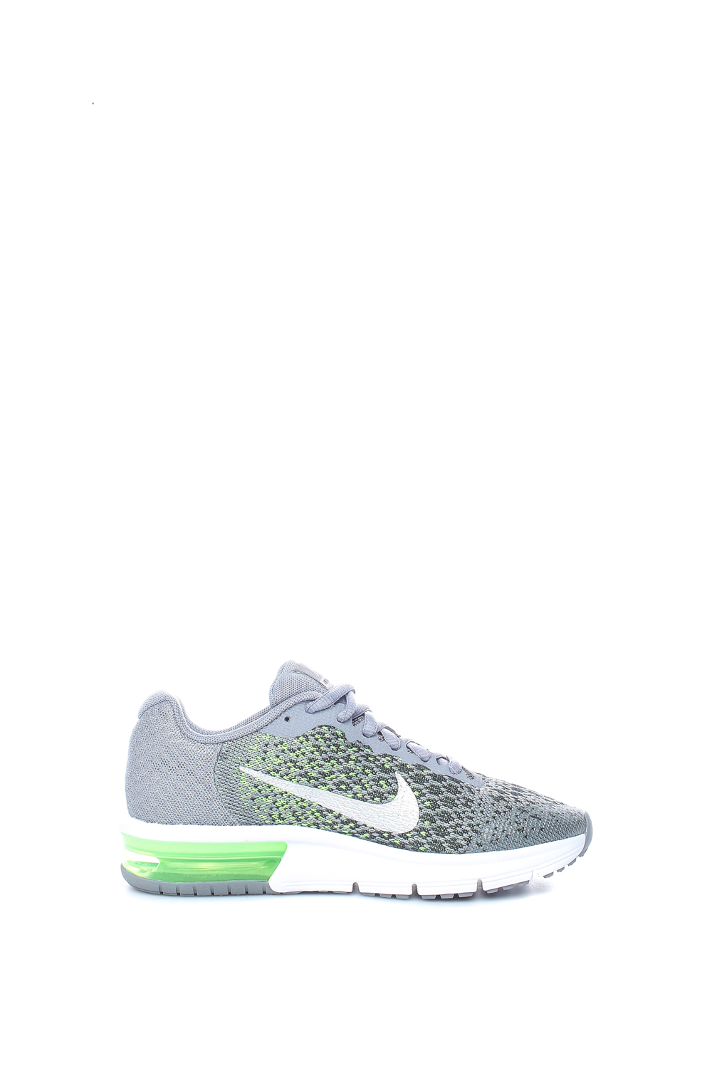 NIKE - Παιδικά παπούτσια Nike AIR MAX SEQUENT 2 (GS) γκρι - πράσινα