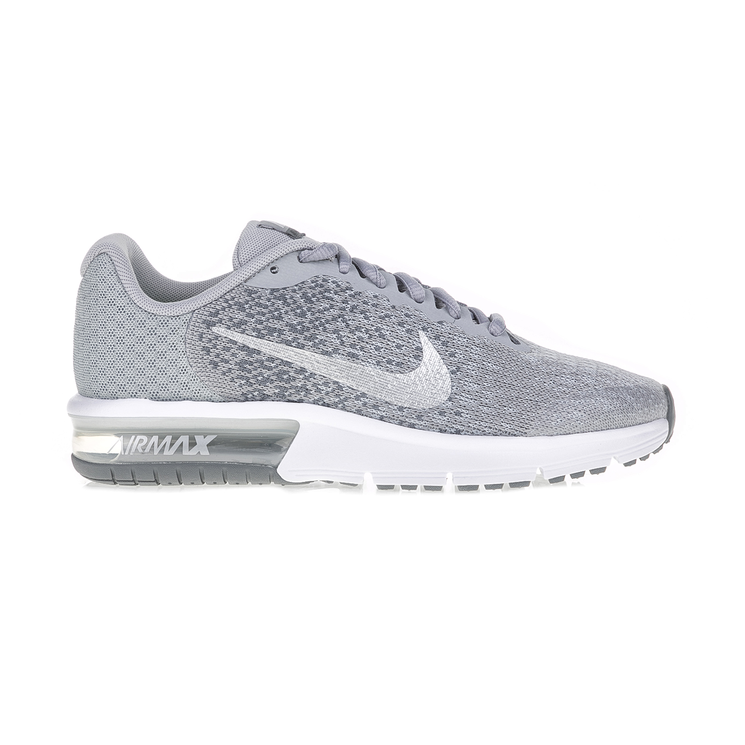 NIKE – Παιδικά αθλητικά παπούτσια NIKE AIR MAX SEQUENT 2 (GS) γκρι