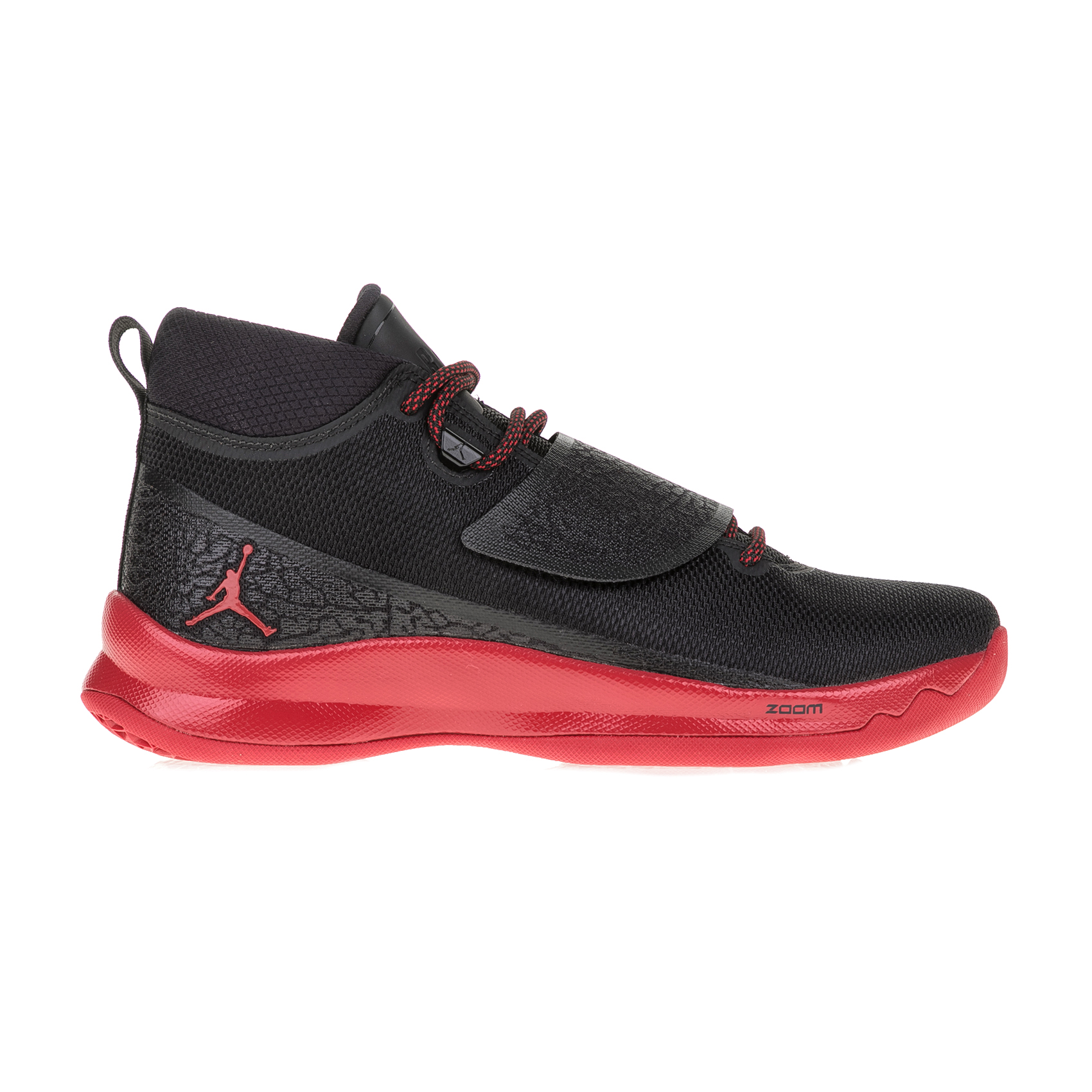 NIKE - Ανδρικά παπούτσια μπάσκετ ΝΙΚΕ JORDAN SUPER.FLY 5 PO μαύρα-κόκκινα ανδρικά παπούτσια αθλητικά basketball