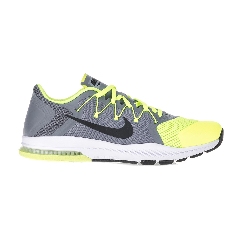 NIKE – Ανδρικά αθλητικά παπούτσια NIKE ZOOM TRAIN COMPLETE γκρι-κίτρινα