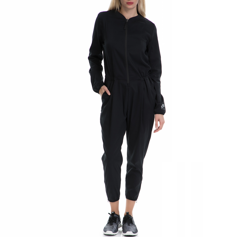 NIKE - Γυναικεία αθλητική ολόσωμη φόρμα ΝΙΚΕ μαύρη γυναικεία ρούχα ολόσωμες φόρμες