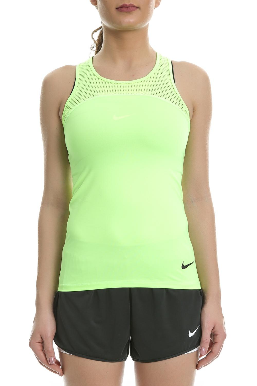 NIKE - Γυναικείο αθλητικό φανελάκι Nike Pro HyperCool κίτρινο γυναικεία ρούχα αθλητικά t shirt τοπ