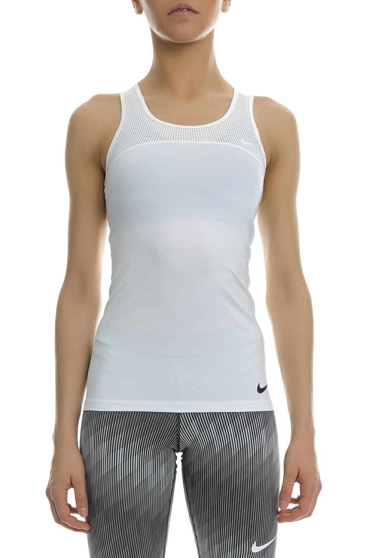NIKE - Γυναικείο αθλητικό φανελάκι Nike Pro HyperCool λευκό γυναικεία ρούχα αθλητικά t shirt τοπ