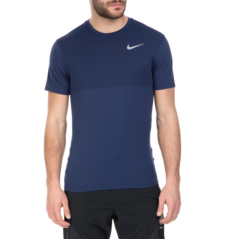 NIKE - Αθλητική κοντομάνικη μπλούζα Nike σκούρο μπλε ανδρικά ρούχα αθλητικά t shirt