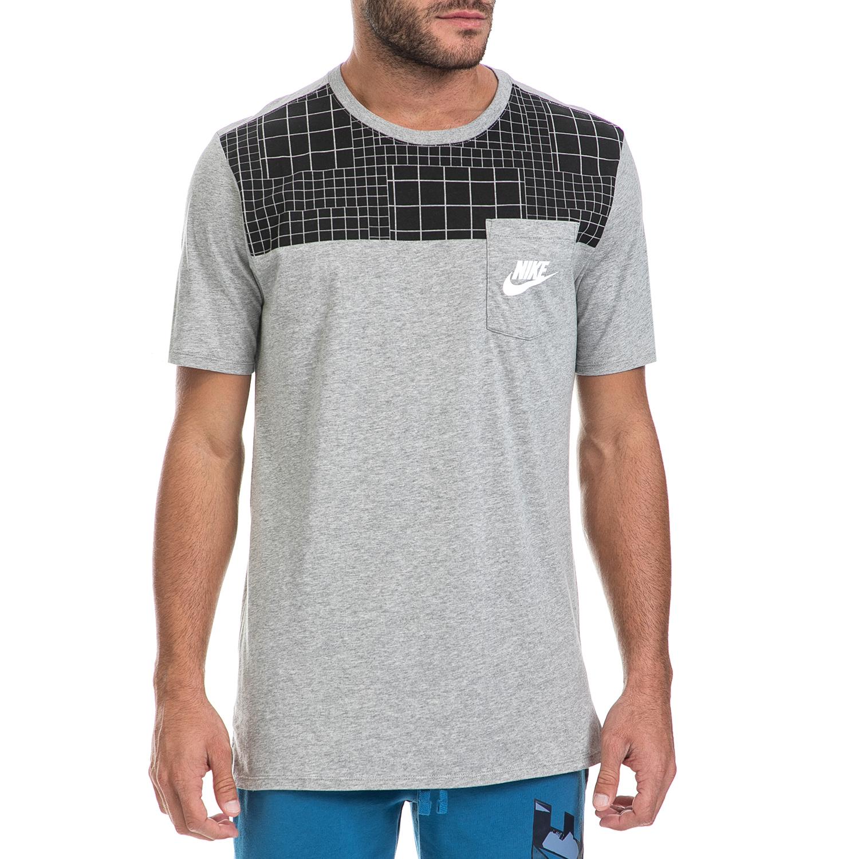 NIKE – Ανδρική μπλούζα NIKE γκρι