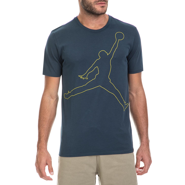 NIKE – Ανδρική μπλούζα NIKE μπλε