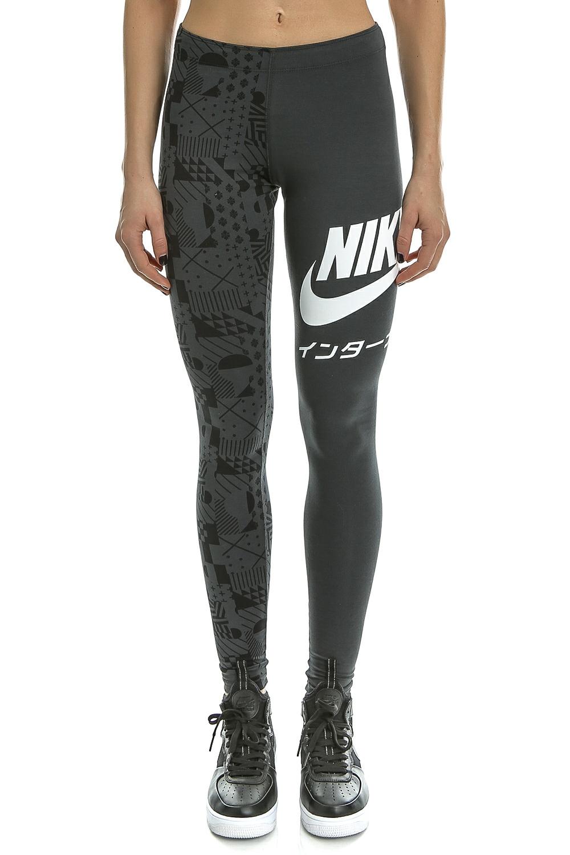 NIKE - Γυναικείο μακρύ κολάν Nike International γκρι γυναικεία ρούχα αθλητικά κολάν