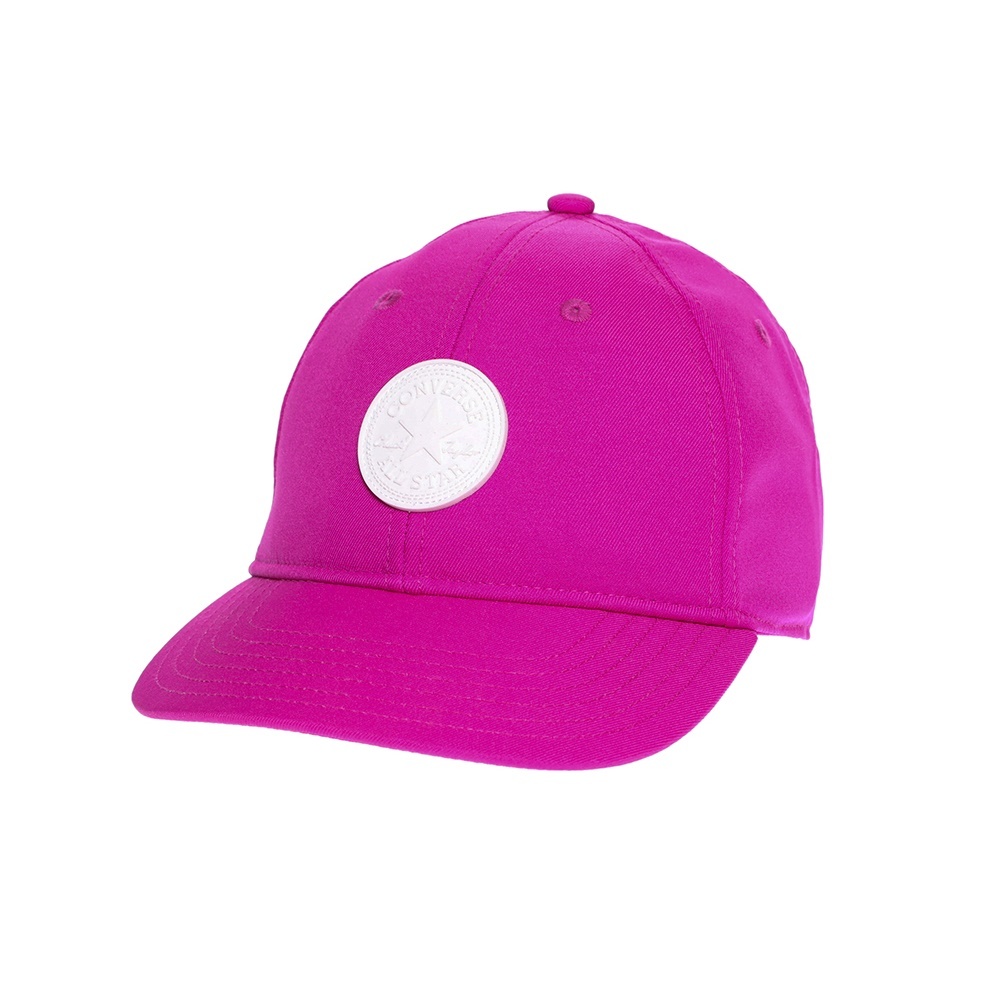 CONVERSE - Καπέλο τζόκεϋ Converse φούξια ανδρικά αξεσουάρ καπέλα αθλητικά