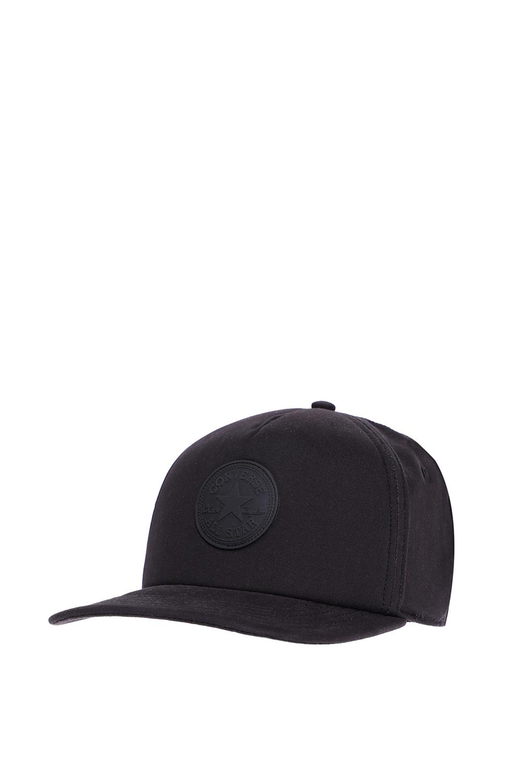 CONVERSE - Καπέλο τζόκεϋ Converse μαύρο ανδρικά αξεσουάρ καπέλα αθλητικά